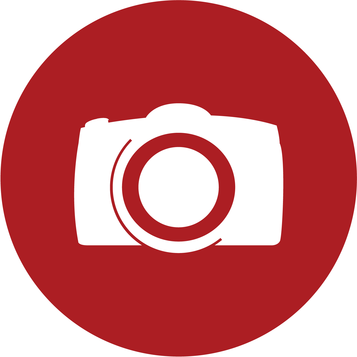 red circle camera logo cliparts #7134