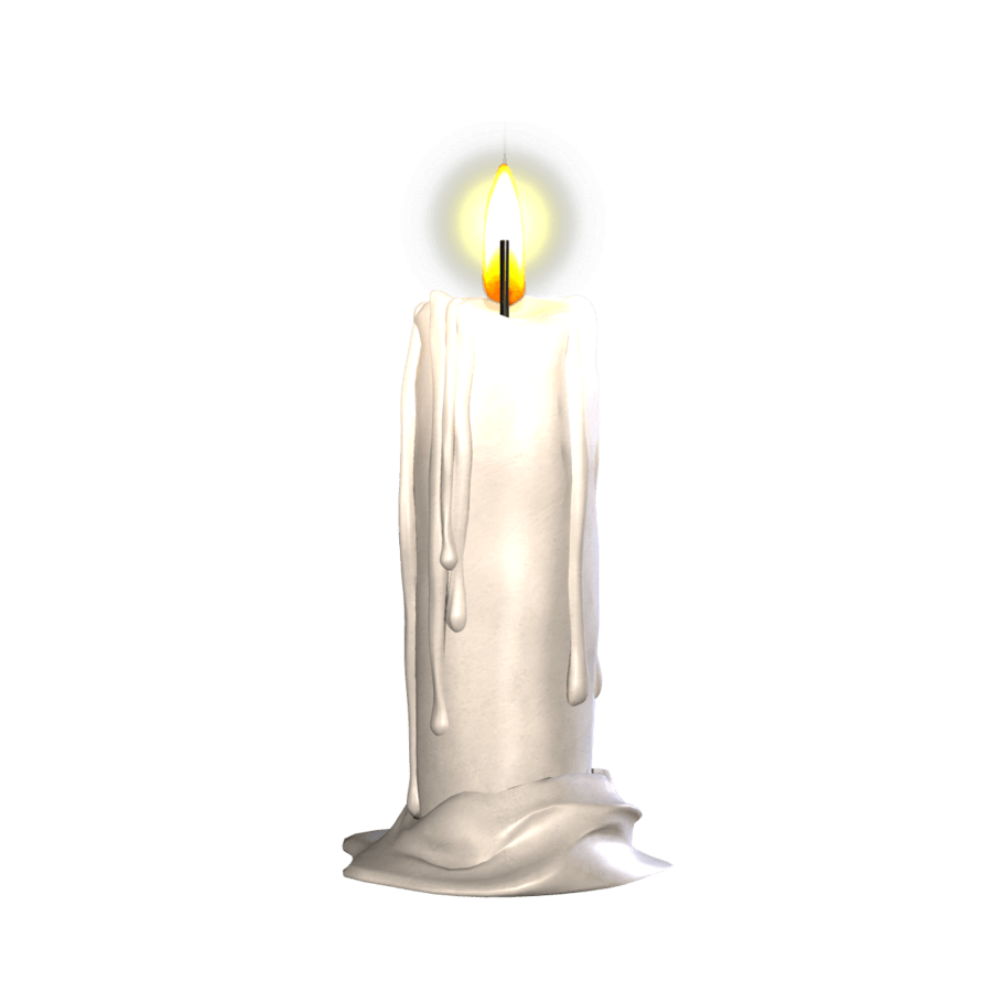 candle single transparent png stickpng #15924