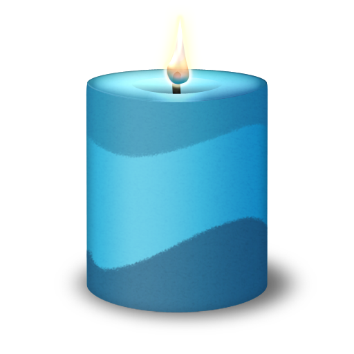 colorful candle icon diwali icons softiconsm #15892