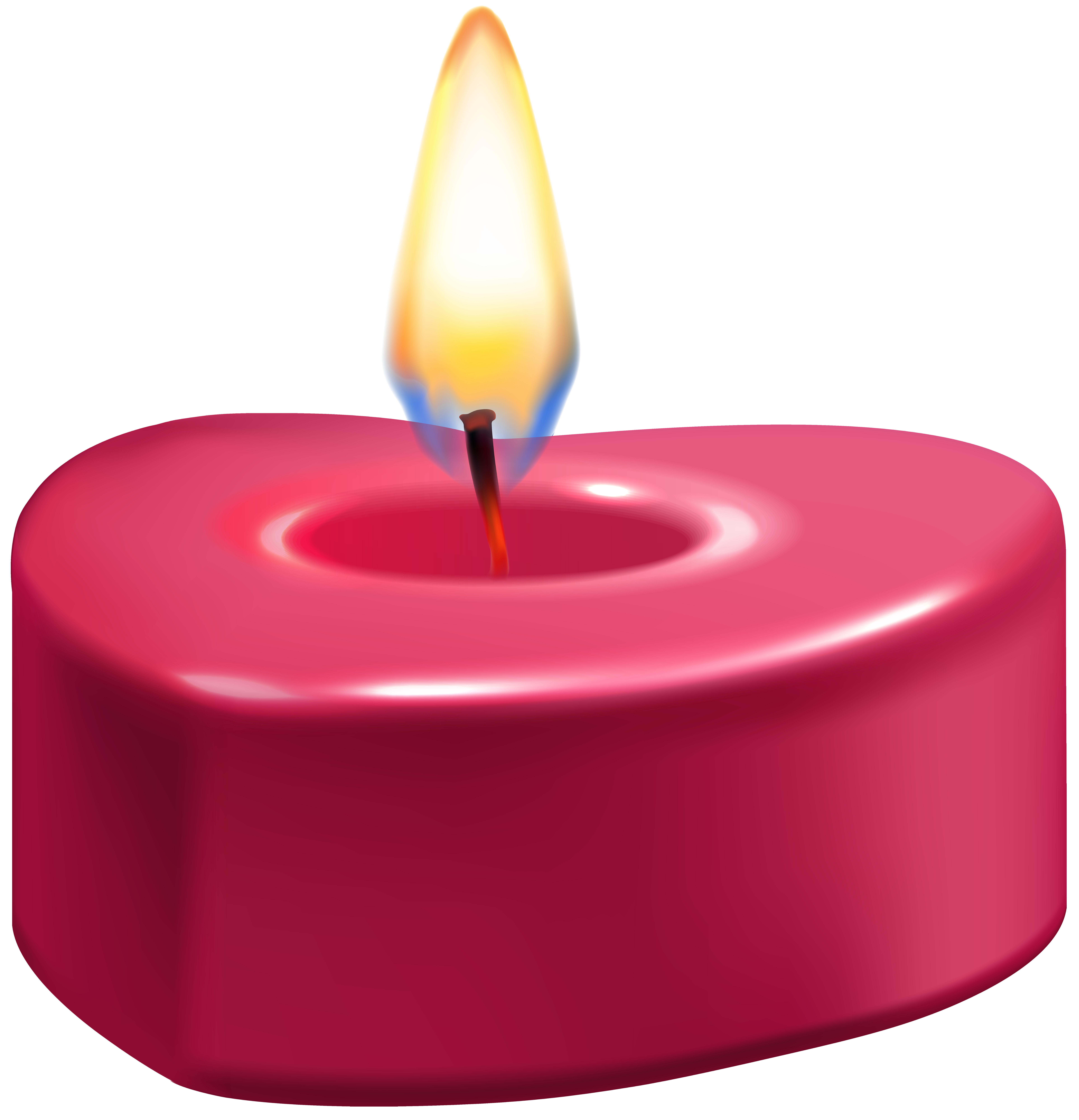 heart candle png clip art best web clipart #15927