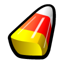 yellow candy corn icons icons halloween #35849