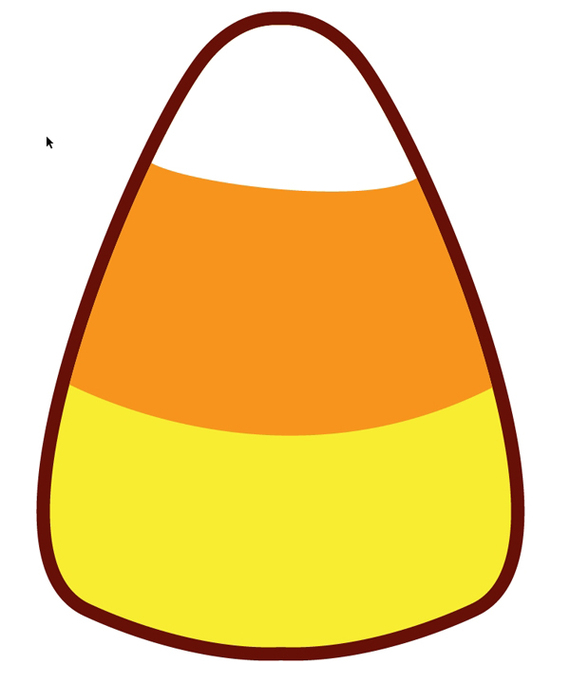 candy corn clipart #35986