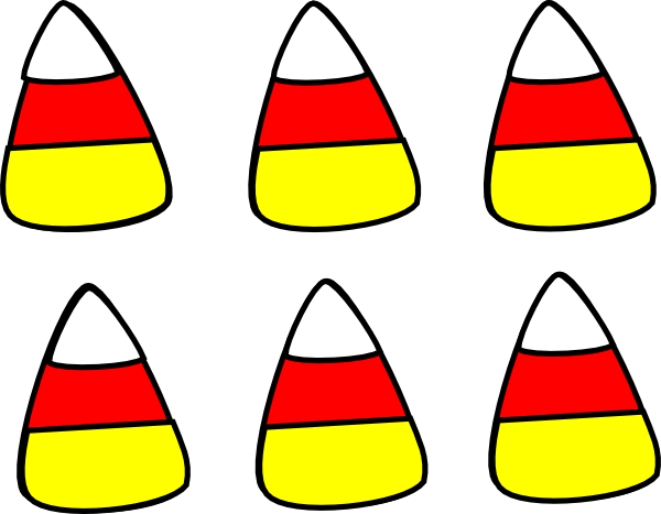 candy corn pattern clip art free download #36004