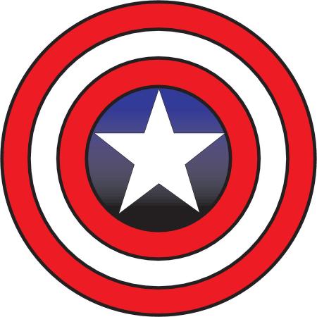 captain america logo clipart #53