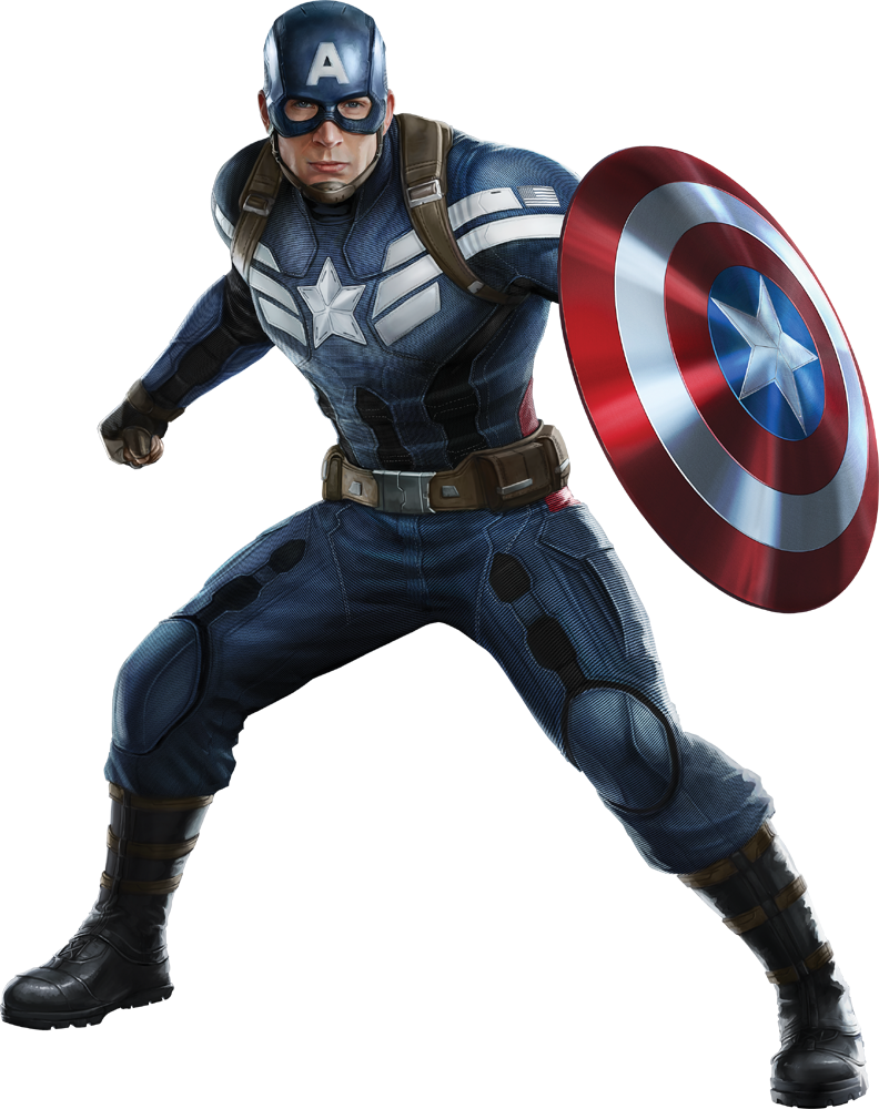 captain america png transparent images download #11438