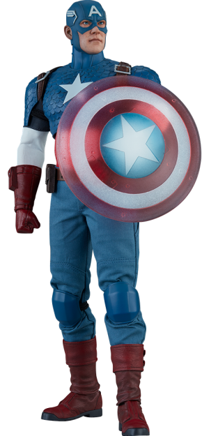 marvel captain america sixth scale figure sideshow #11557