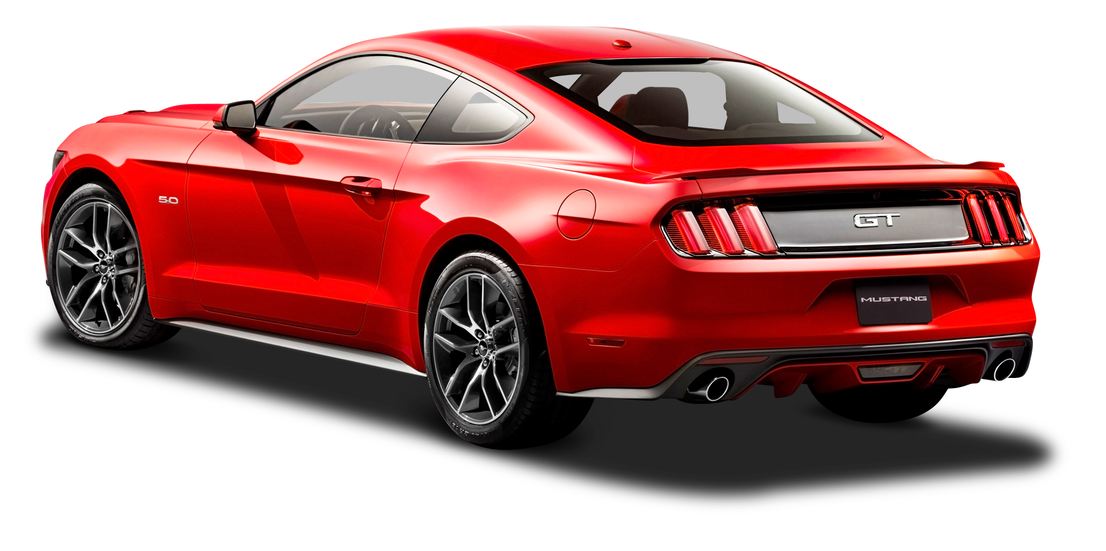 ford mustang red car back side png image pngpix #9293