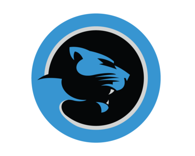 carolina panthers cat box png logo