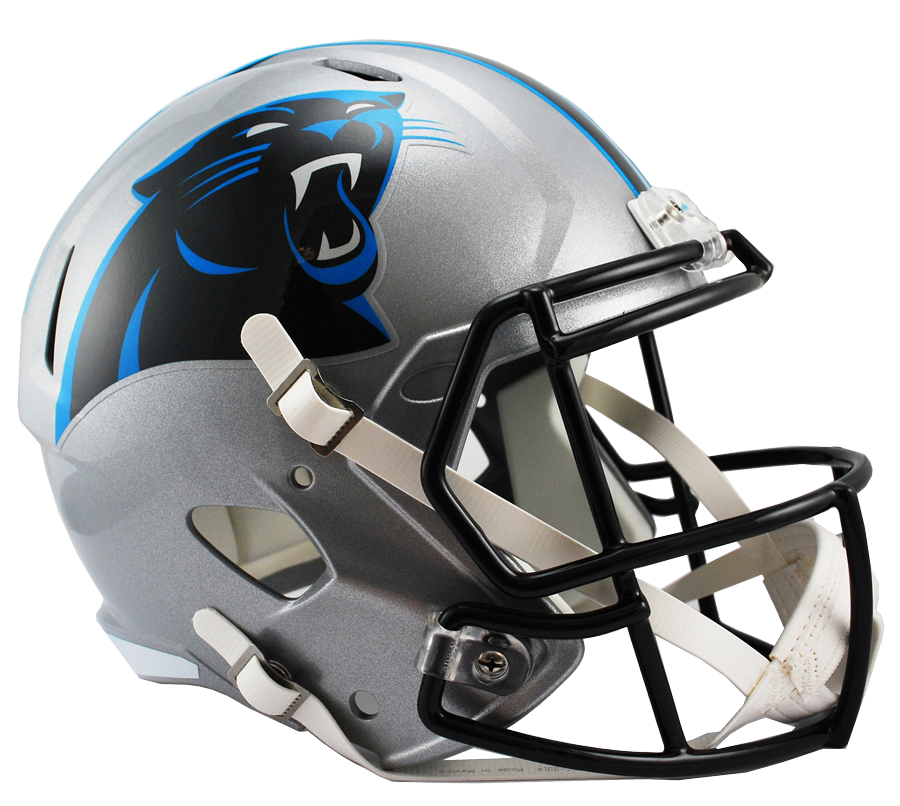 carolina panthers speed replica helmet png logo 6744