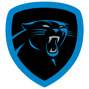 new foursquare badge, carolina panthers png logo #6734