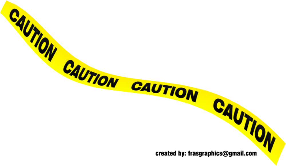 black and yellow caution tape psd official psds #24128