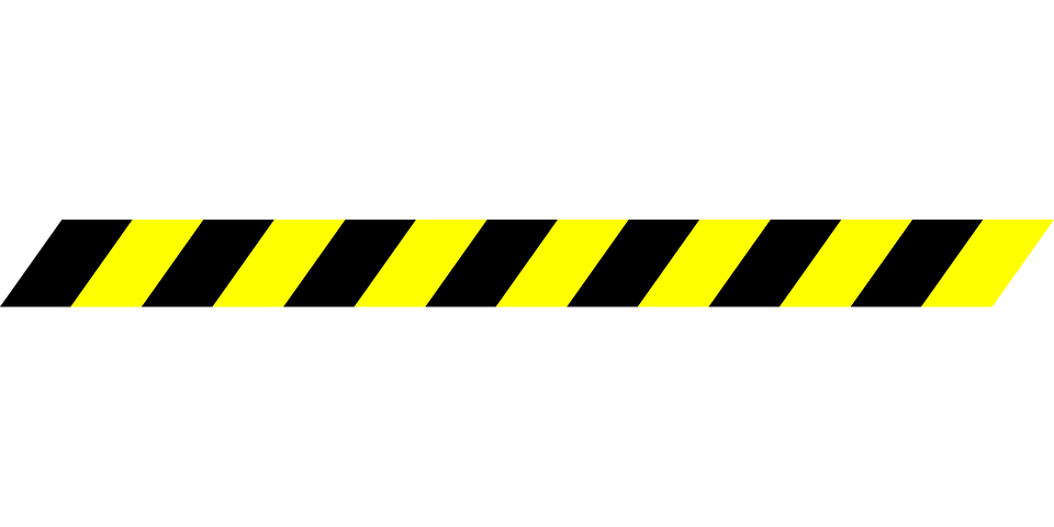 Caution Tape PNG, Blank Tape, Yellow Tape, Police Tape ...
