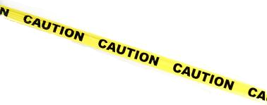 caution tape, tool using monkey #24119