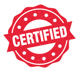 certified seal transparent png, blank certified #39483