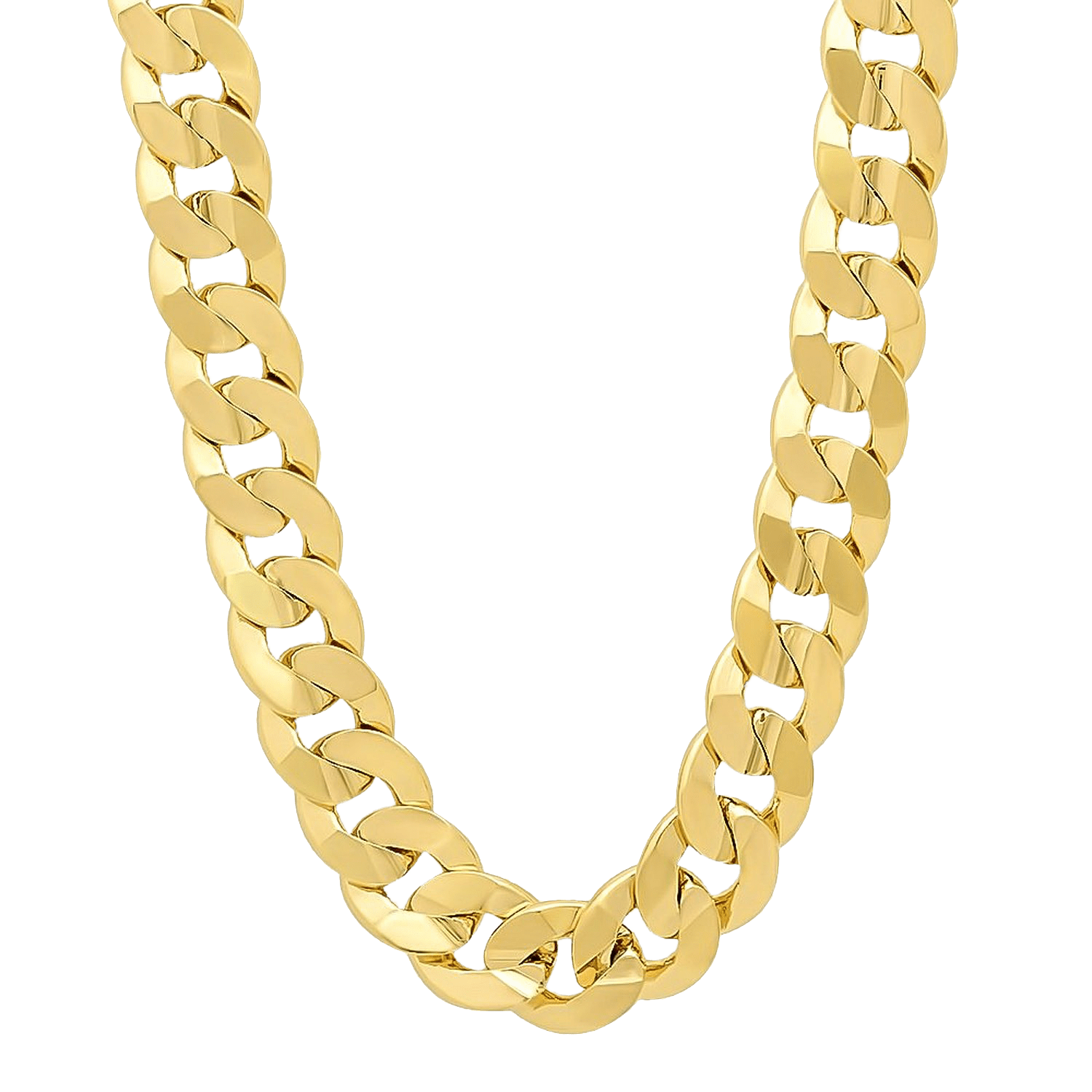 thug life heavy gold chain transparent #8291