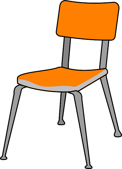 chair plastic furniture vector graphic pixabay #13261