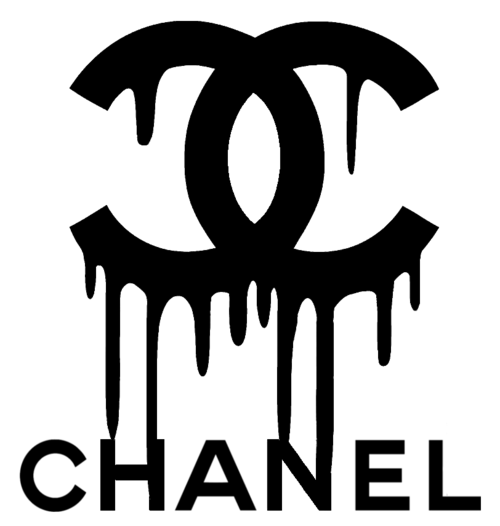 chanel logo transparent drip png 1943