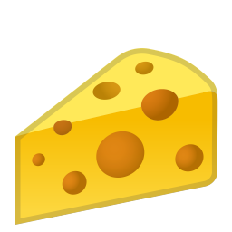 cheese wedge icon noto emoji food drink iconset google #22445