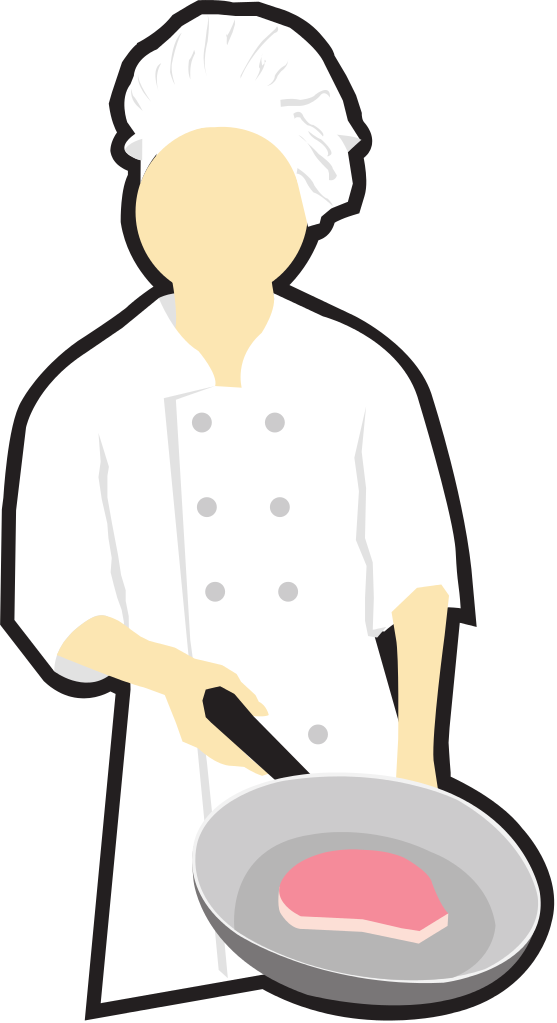 file chef cooking clip art svg wikimedia commons #14531