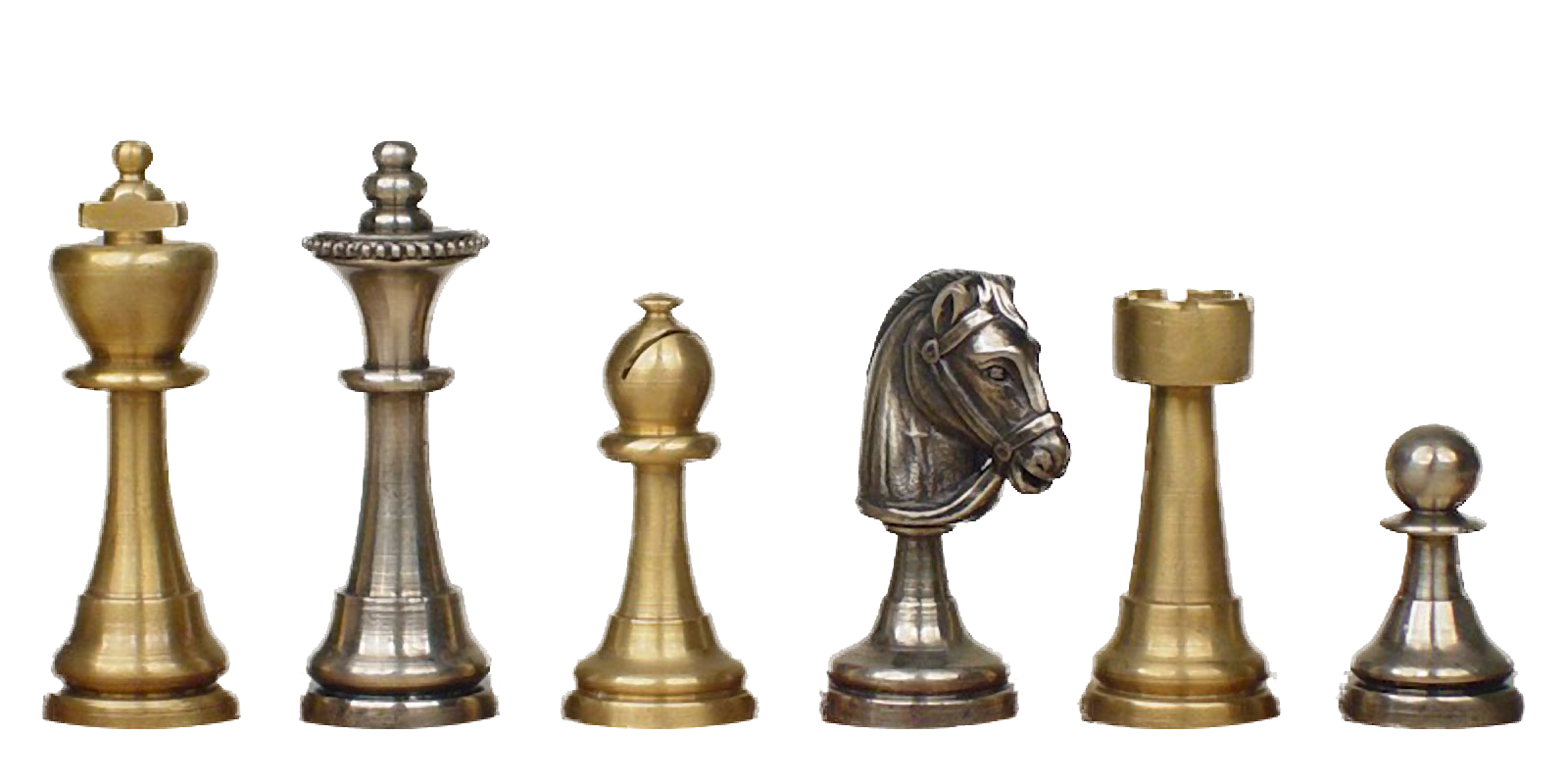 metal chess pieces photo #39309