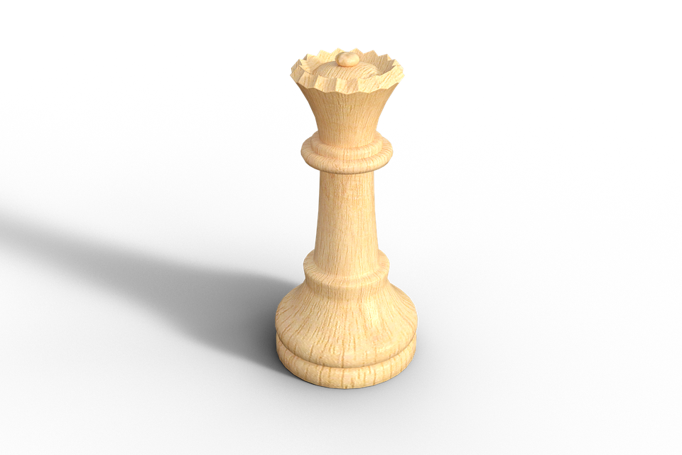 single chess piece queen game image #39321