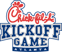 chick fil a college kickoff game atlanta png logo 4856