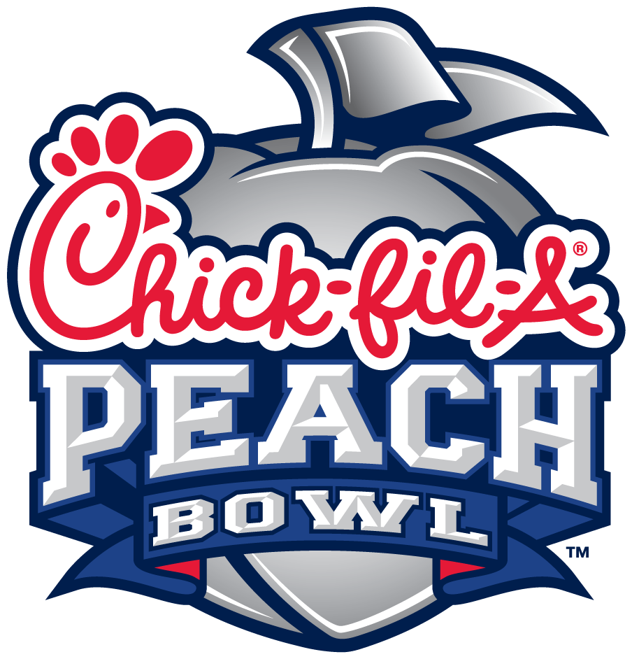 chick fil a peach bowl logo png 4852