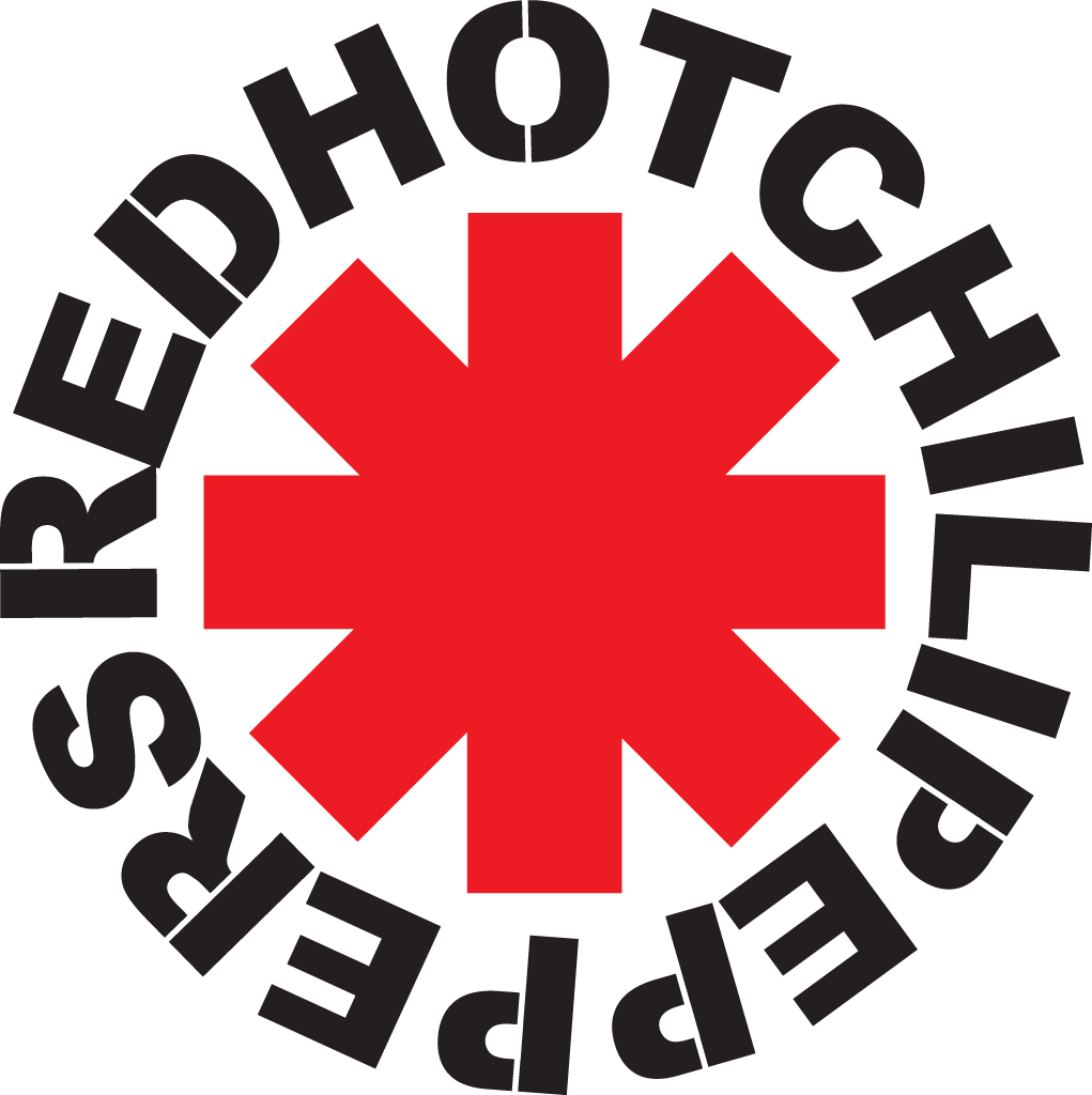 red hot chili peppers logo png #6220