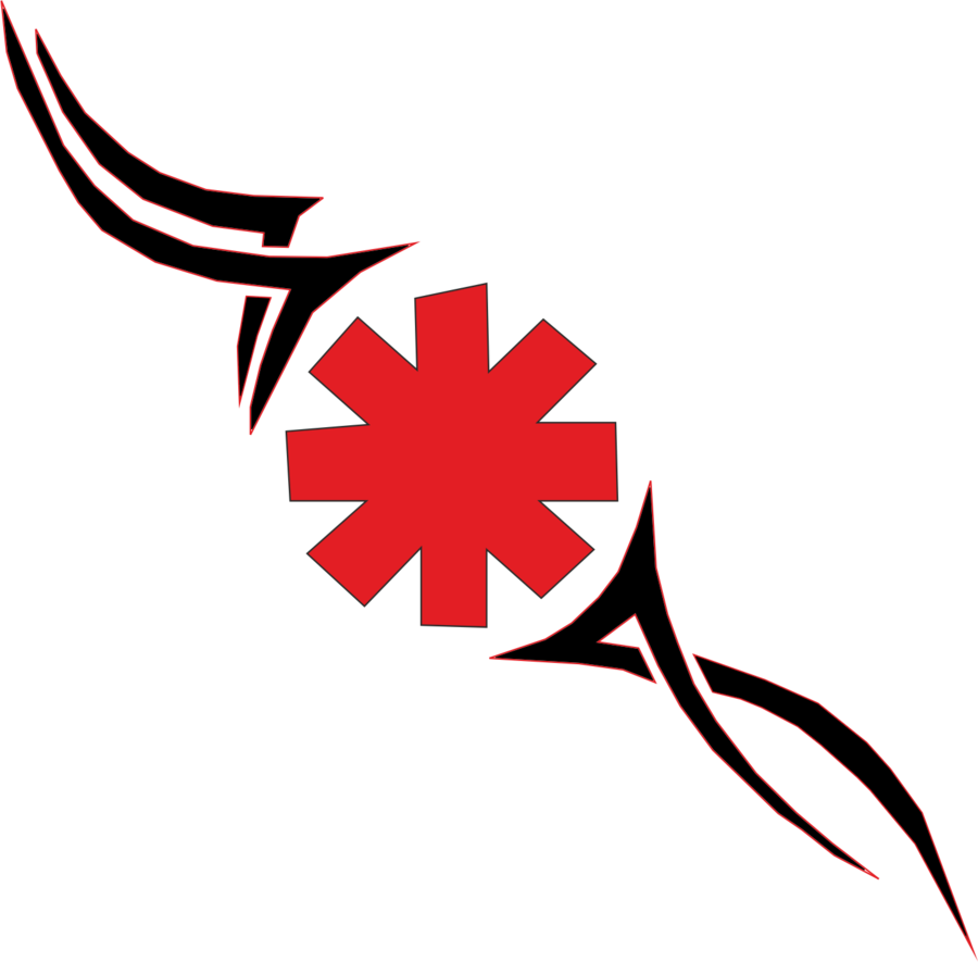 red hot chili peppers logo png #6223