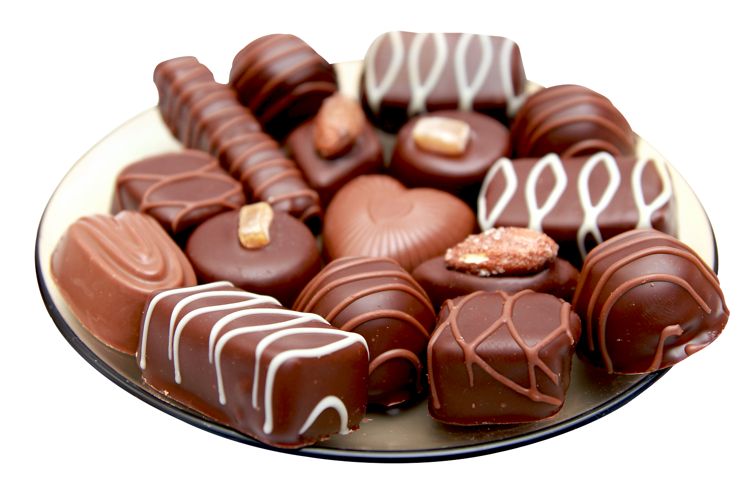 chocolate, chocolates plate png image pngpix #14381