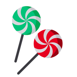 christmas candy lollypop icon flat style available svg png eps #35320