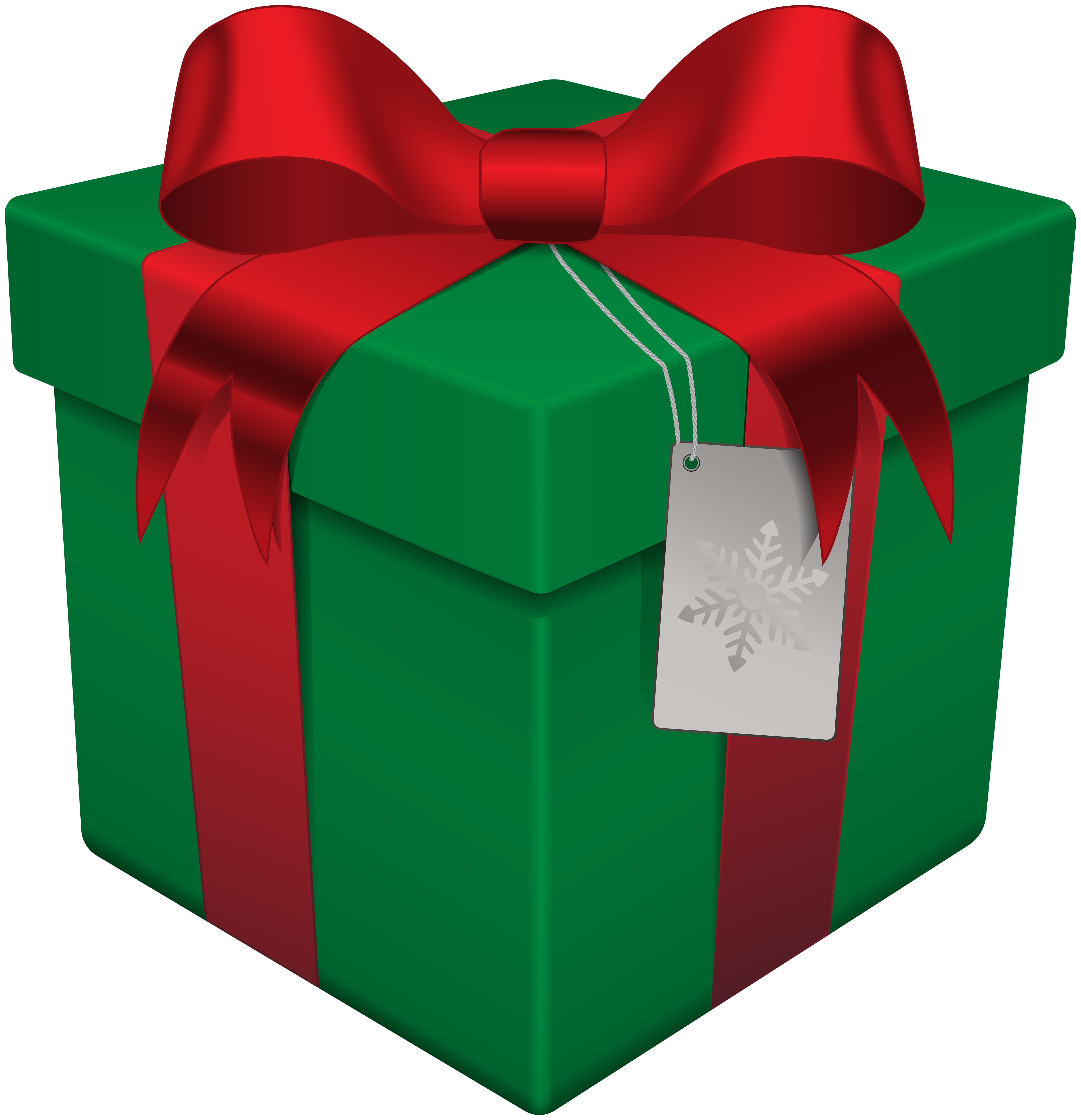 christmas gift box green transparent png clip art clip #28072