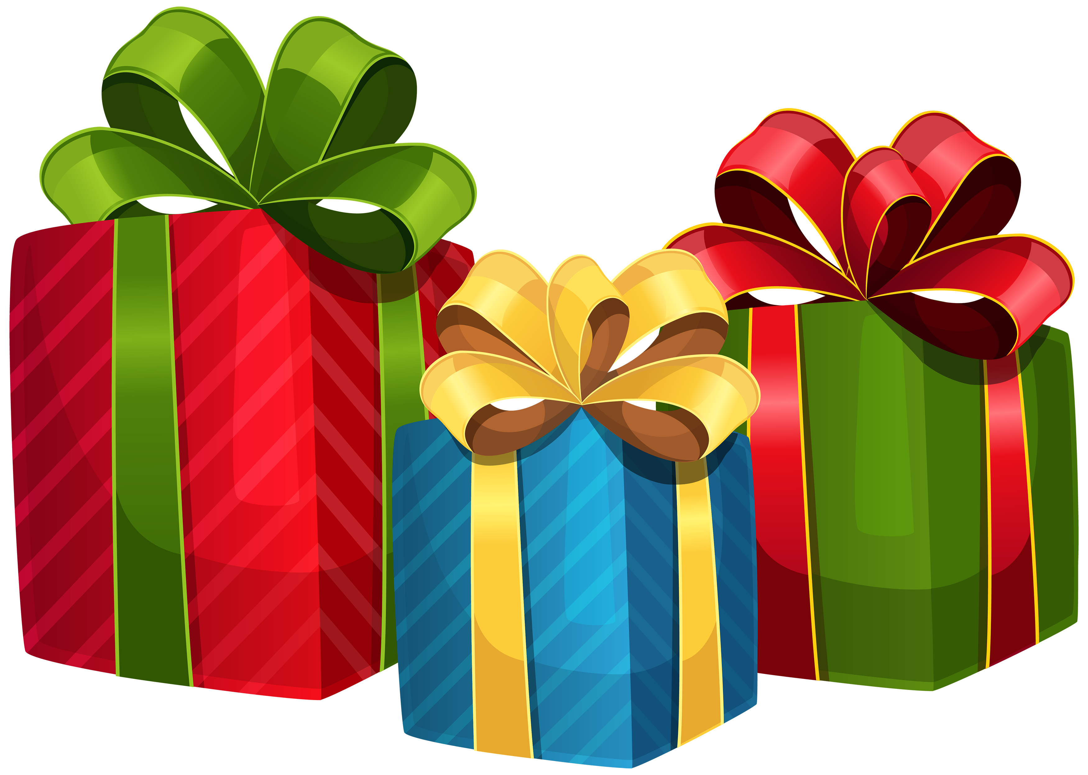 christmas gift, christmas presents clipart png #28061