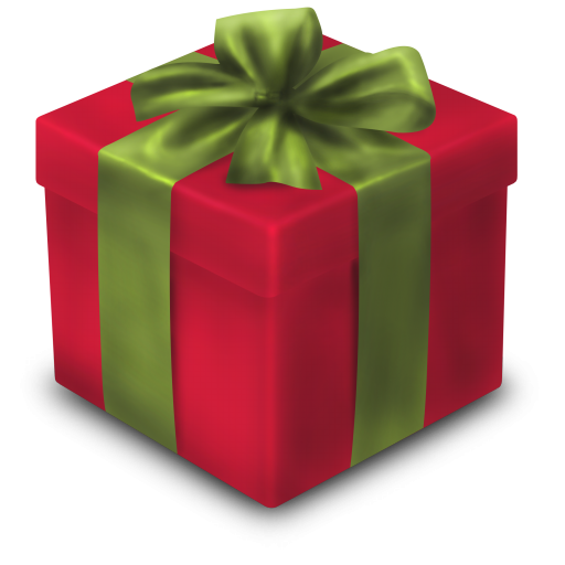 christmas gift red icon png clipart image iconbugm #28073