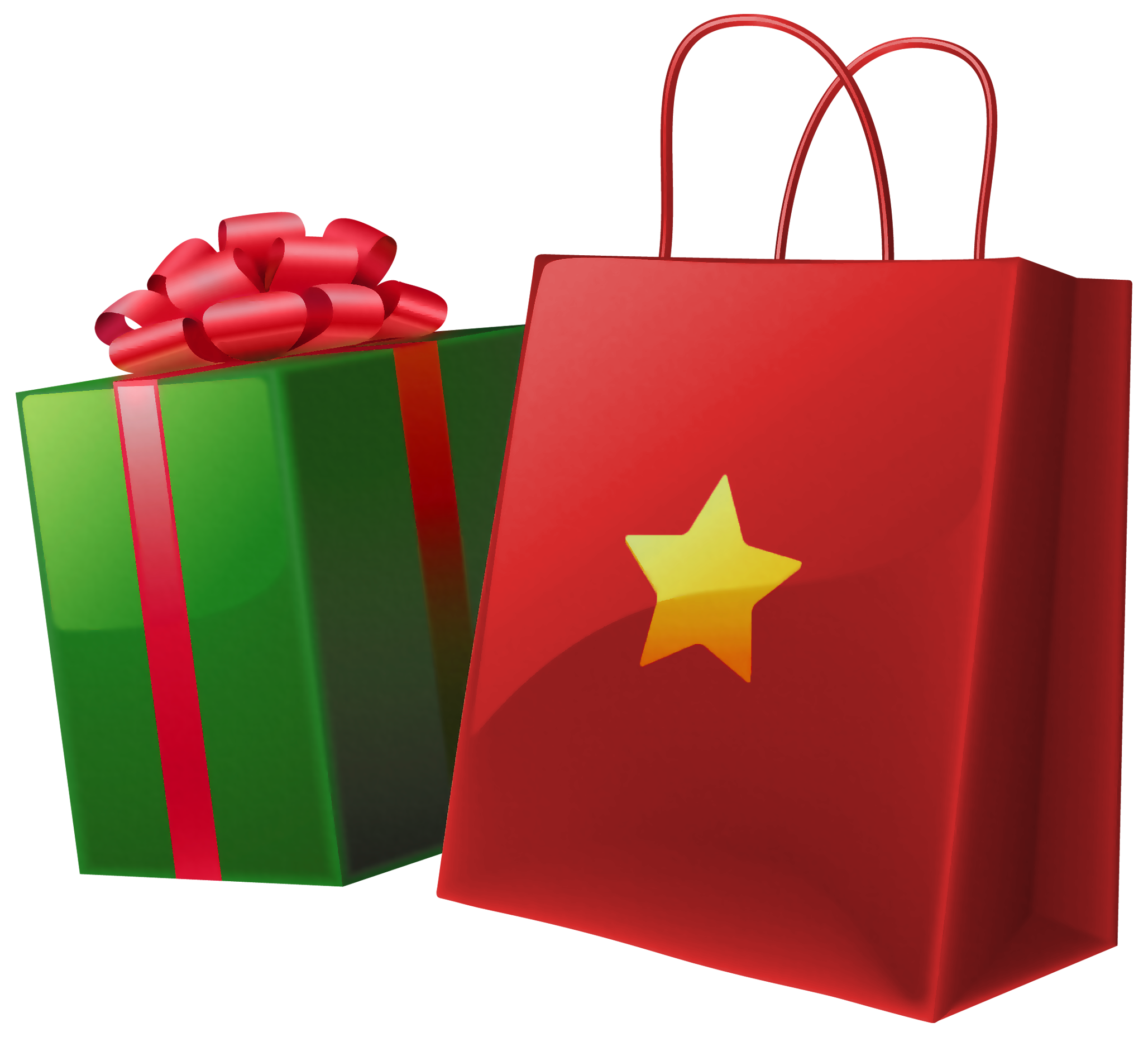 transparent christmas gift box and bag gallery #28081