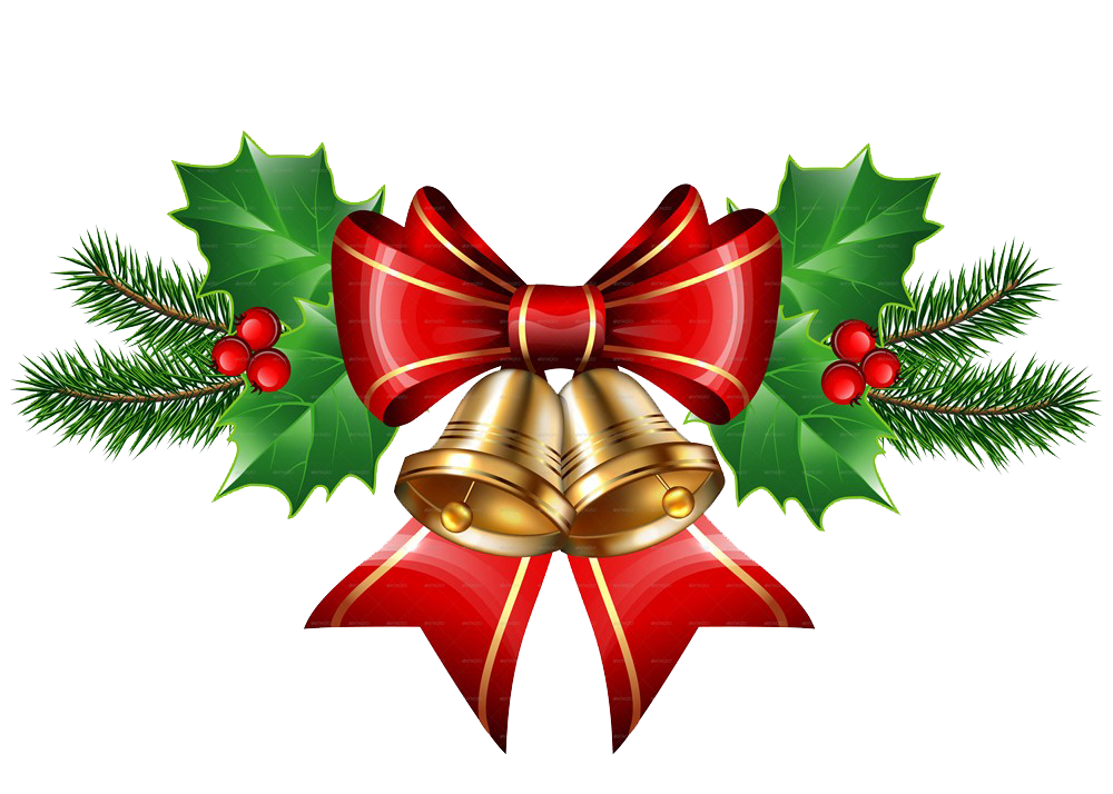 christmas bell png transparent images download #9664