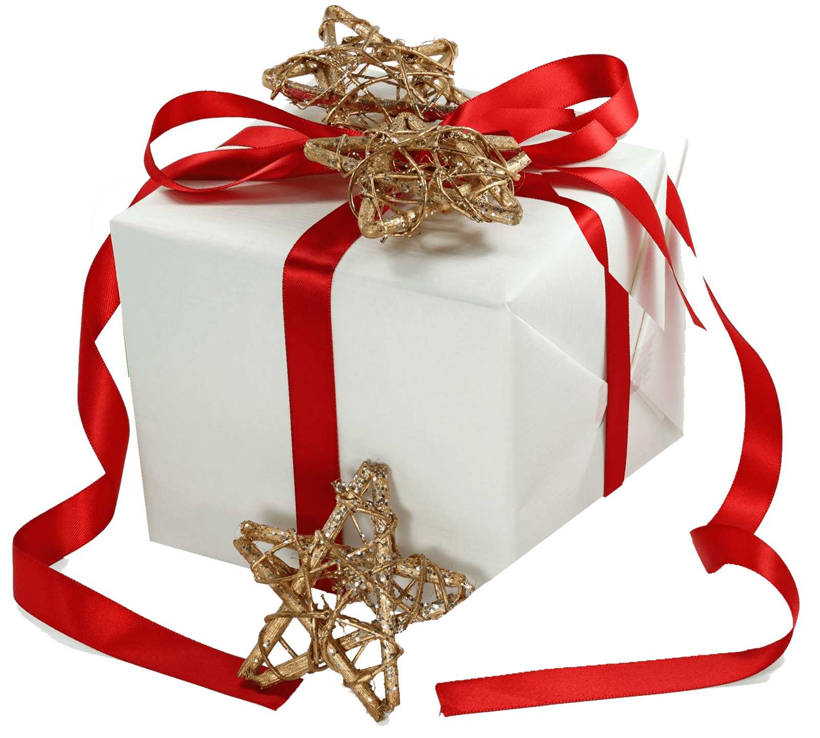 christmas gift ribbon gold stars transparent png stickpng #9667