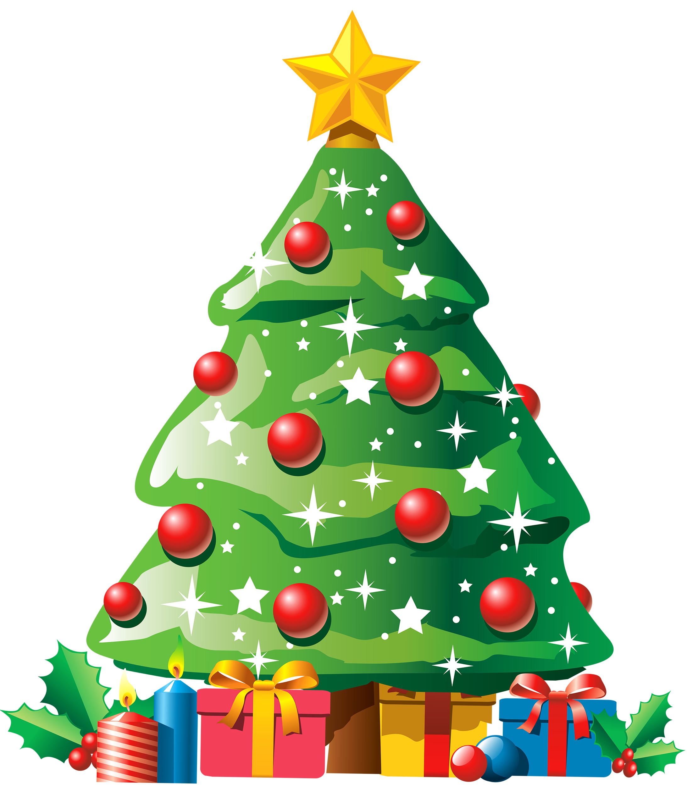 christmas tree with gifts png clipart best web clipart #9642