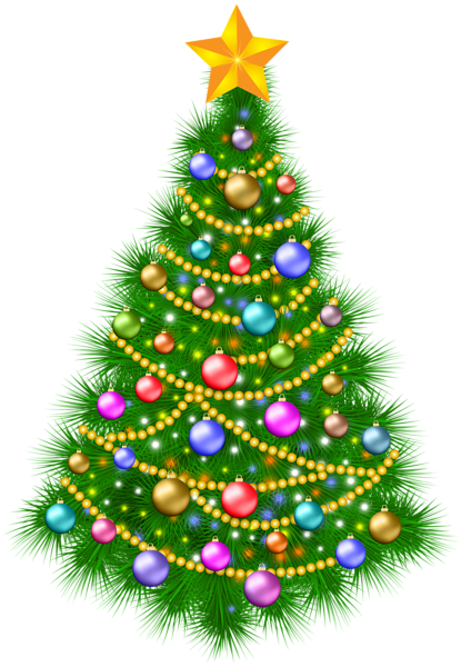 christmas tree transparent png image gallery #11604