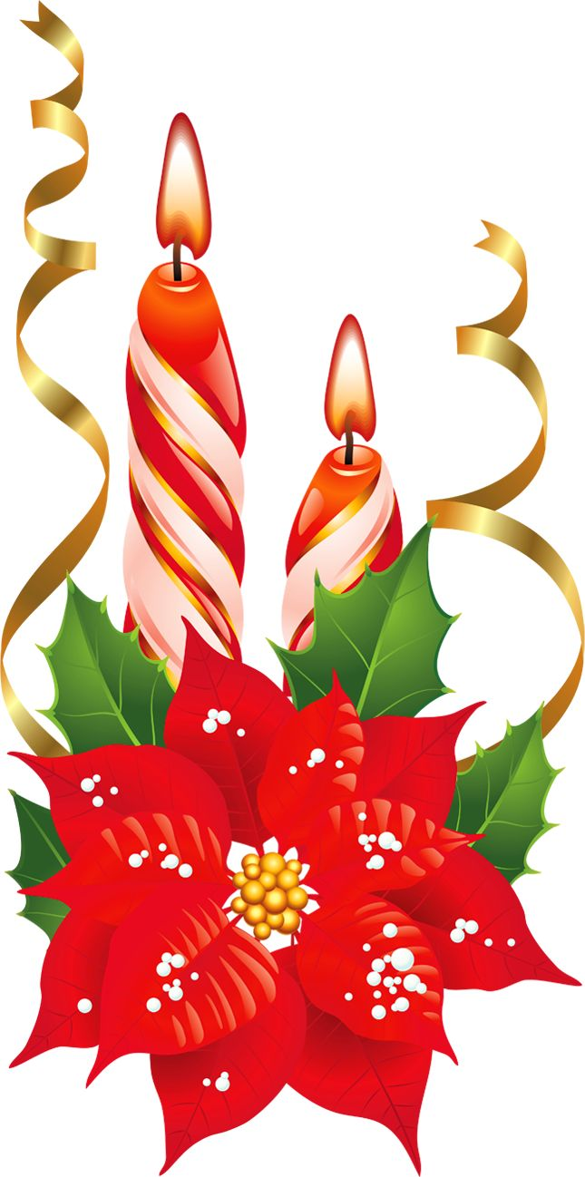 christmas clipart, christmas candle clipart christmas candles clipart #27678