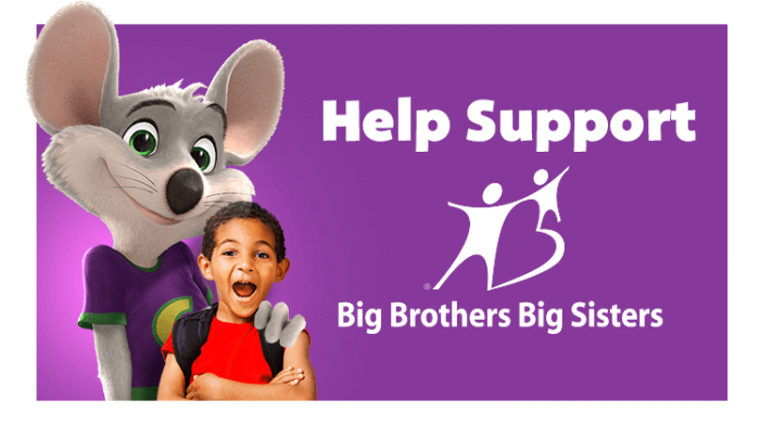 chuck e cheese help support logo png #4759