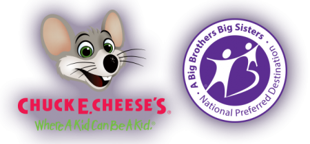 chuck e. cheeses big brothers big sisters of america png logo #4760
