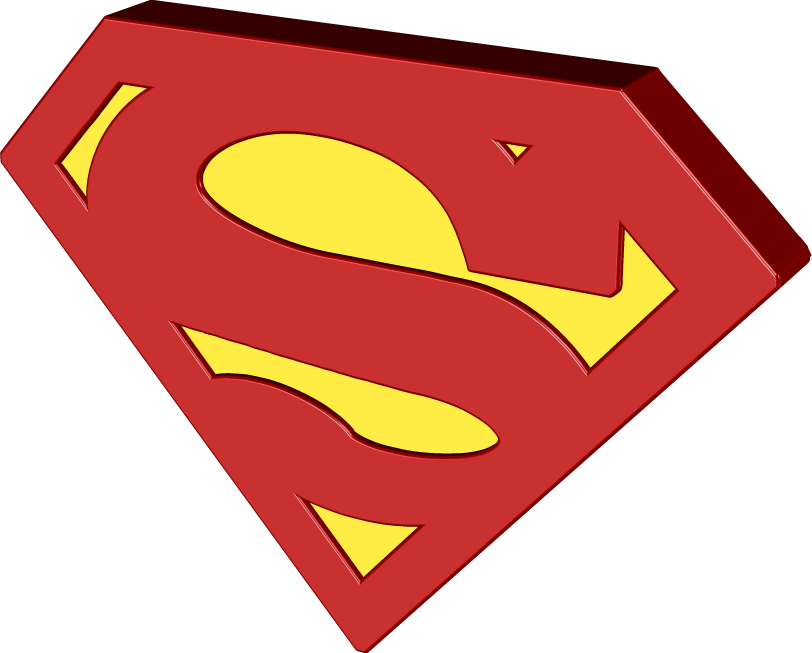 Classic Superman Logo Png #1528