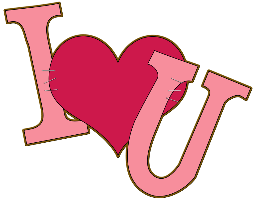best I love you clipart #35941