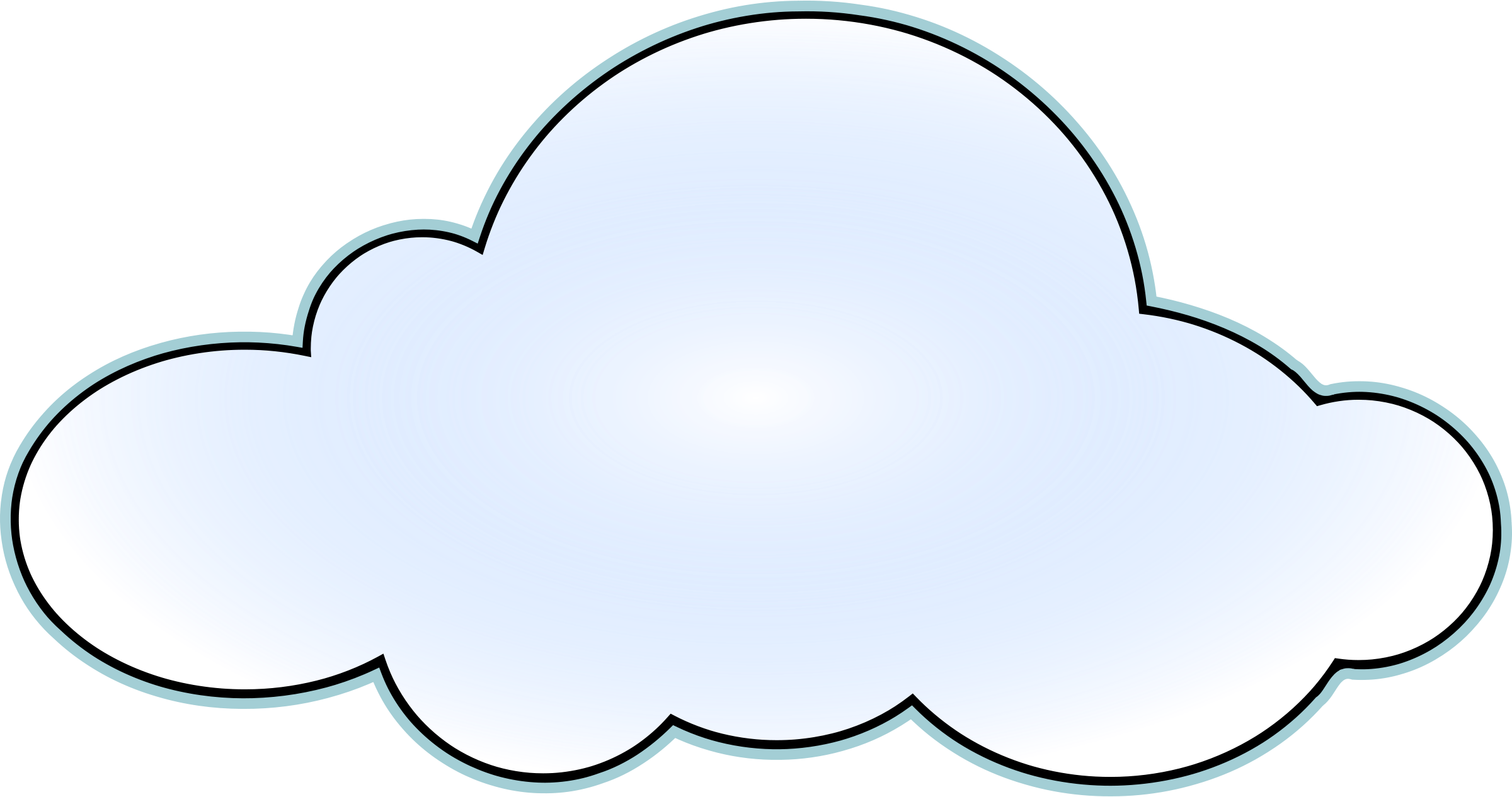 cloud clipart 7377