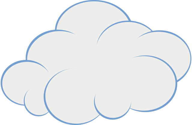 file cartoon cloud 7363