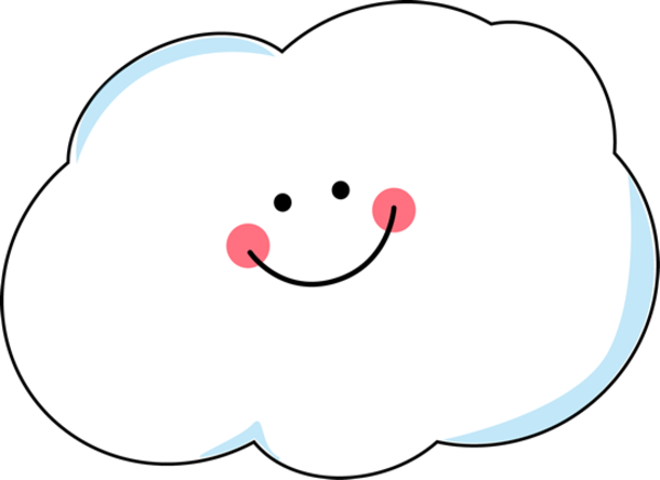 happy cloud images clipart 7368