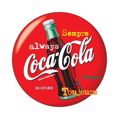 always coca cola png logo #4647