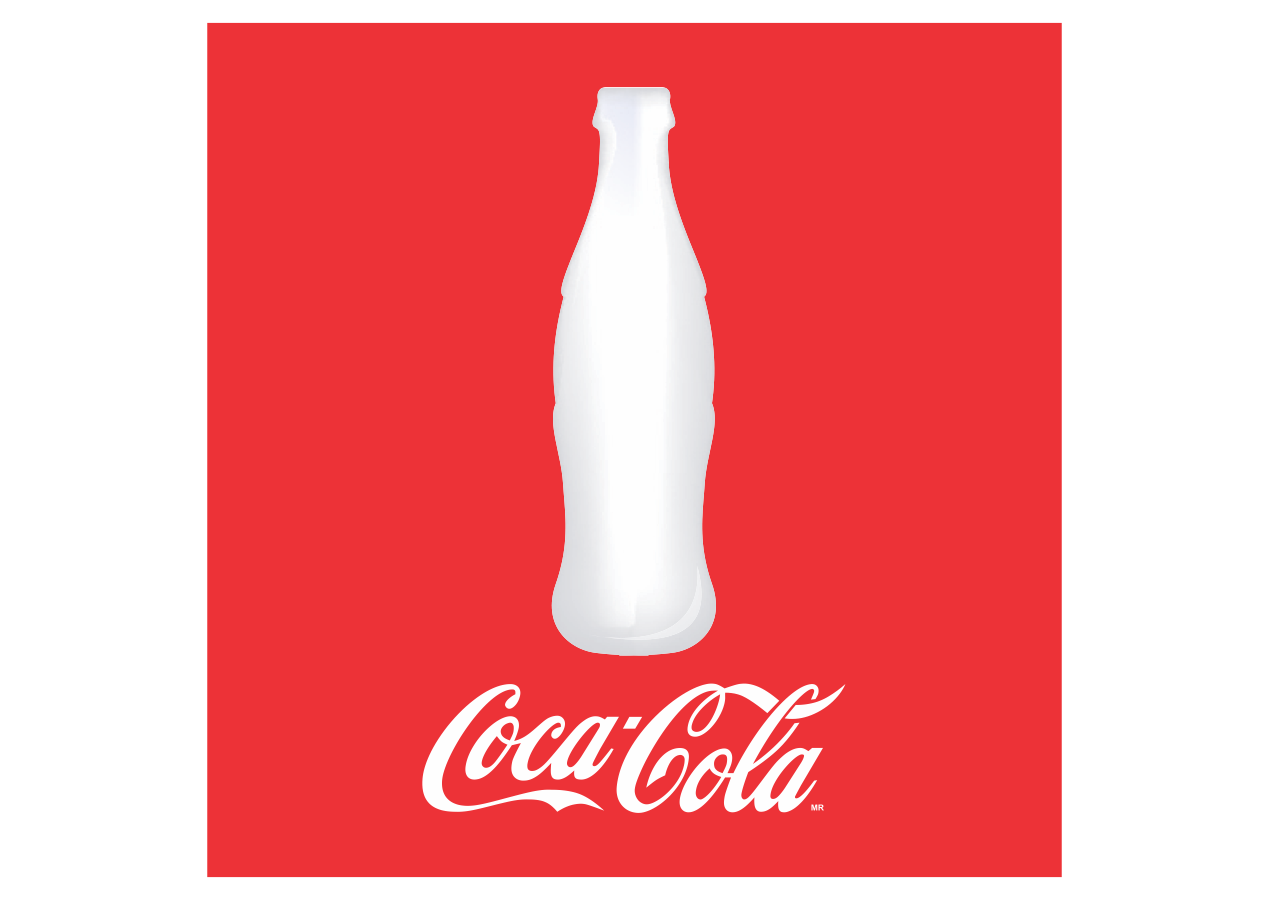 coca cola bottle logo png #4642