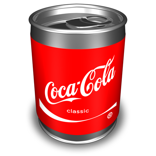 coca cola icon cans icons softiconsm #11042